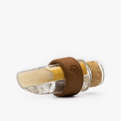 Side view mouthpiece Clarinet Ligature Concerto Wood color Walnut