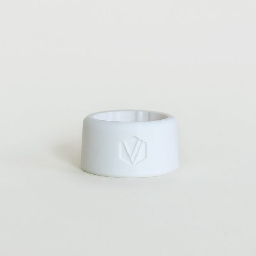 Front view Saxophone / Clarinet ligature 3D printed with ceramic